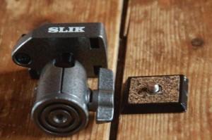 SLIK SPRING PROⅡ_雲台とシュー