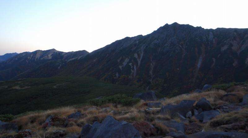 0529_C0036_水晶岳と赤牛岳方面